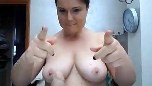 BBW with beamy boobs on webcam 2 asians p