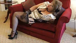 Stockingsbabexxx E059 Laddie of the Manor - big fun bags
