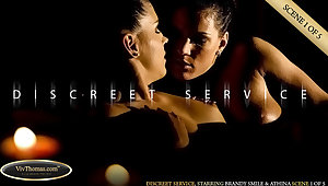 Discreet Service Scene 1 - Athina & Brandy Smile - VivThomas