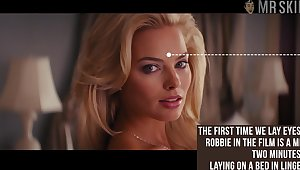 Awesome beauty Margot Robbie flashed their way Bristols while doing some nude scenes