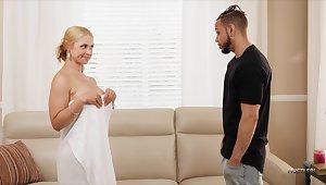 Black Supplicant Fucks His Stepmom Sarah Vandella With Big Tits And Fat Ass