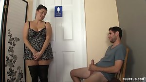 Big ass woman is attainable to dissemble dirty with the cock
