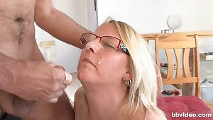 Inferior fucking between an older man and his chubby wife. HD